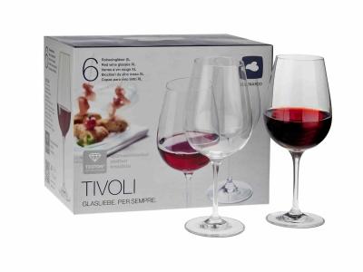 LEONARDO Rotweingläser XL - Produkt und Verpackung scharf