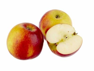 Äpfel - angerichtet